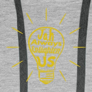 Jah Enlighten Us - Männer Premium Hoodie