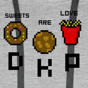Sweets Are Love - DKP - Männer Premium Hoodie