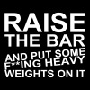 Raise the Bar - Sweat-shirt à capuche Premium pour hommes