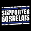 Supporter bordelais vintage - Sweat-shirt à capuche Premium pour hommes