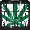 Smoke Weed Everyday ImpactShad - Sweat-shirt à capuche Premium pour hommes