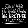 World's Greatest Big Brother... - Men's Premium Hoodie