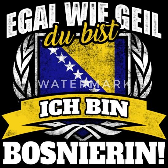 Bosnier Bosnien Bosnierin bosnisch Geschenk Männer Premium