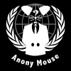 anony mouse v2 - Männer Premium Hoodie