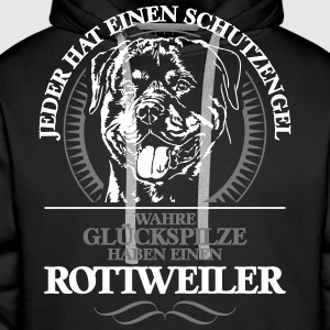 Rottweiler Guardian Angel - Sweat-shirt à capuche Premium pour hommes