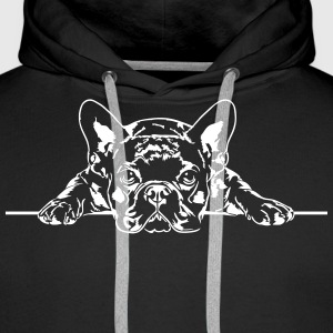 French Bulldog - French Bulldog - Men's Premium Hoodie