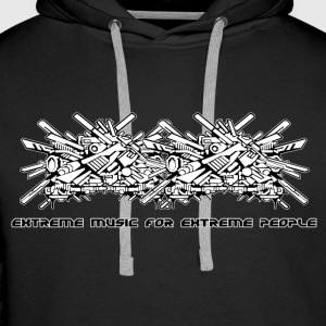 Extreme music for extreme people - Men's Premium Hoodie