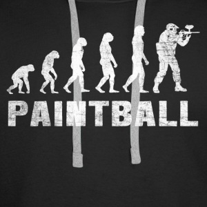 Evolution Paintball 2.0 - Paintball T-shirt - Mannen Premium hoodie