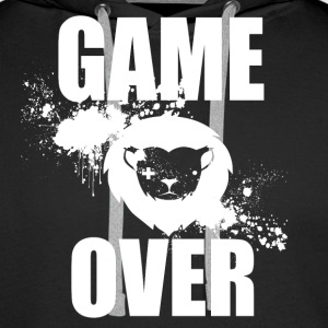 Gamer - Game Over - Men's Premium Hoodie