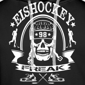 HOCKEY FREAK - Premium hettegenser for menn