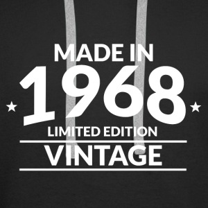 Made in 1968 - Limited Edition - Vintage - Premium hettegenser for menn
