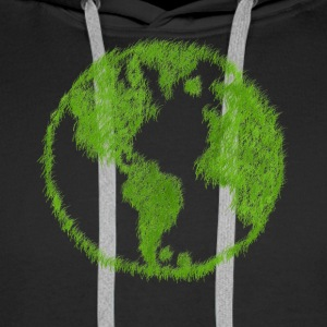 Green Grass World - Men's Premium Hoodie