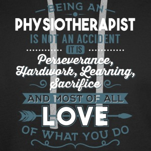 Love what you do - Physiotherapist - Men's Premium Hoodie