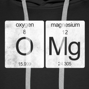 OMG periodic table - Men's Premium Hoodie
