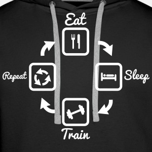 Eat Sleep Train Repeat : gym bodybuilding fitness