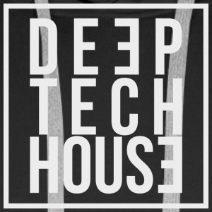 Deep Tech House by HouseMixRoom RadioShow - Men's Premium Hoodie