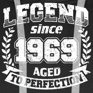 VINTAGE LEGEND SINCE 1969 AGED TO PERFECTION - Männer Premium Hoodie