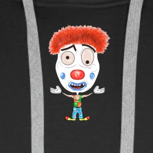 LOGO Clown - Sweat-shirt à capuche Premium pour hommes