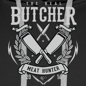 The Real Butcher - Men's Premium Hoodie