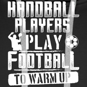Handball FOOTBALL WARM UP - Sweat-shirt à capuche Premium pour hommes