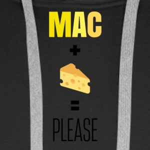 Mac and Cheese Please - Men's Premium Hoodie