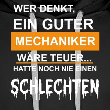 Stolzer Mechaniker Spruch Männer Premium Hoodie Spreadshirt