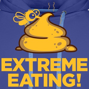 Extreme Eating - Sweat-shirt à capuche Premium pour hommes