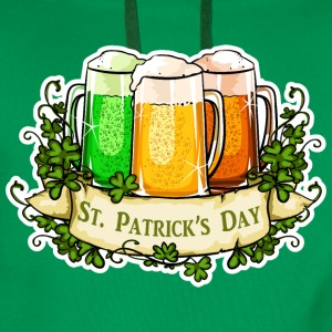 St Patricks Day - Sweat-shirt à capuche Premium pour hommes