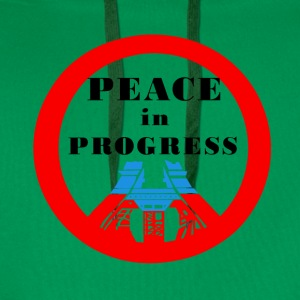 Peace in Progress - Men's Premium Hoodie