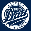 100 percent PURE SUPER DAD - Sweat-shirt à capuche Premium pour hommes