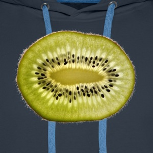 kiwi fruits fruit fruit fruit veggie vegetarian - Men's Premium Hoodie