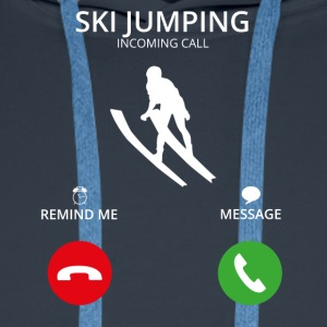 Ring Mobile Call skihopping - Premium hettegenser for menn