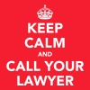 Keep Calm And Call Your Lawyer - Felpa con cappuccio premium da uomo