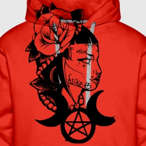 Poetic witch_Psike13 - Men's Premium Hoodie