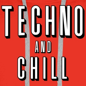 Techno and chill - Men's Premium Hoodie