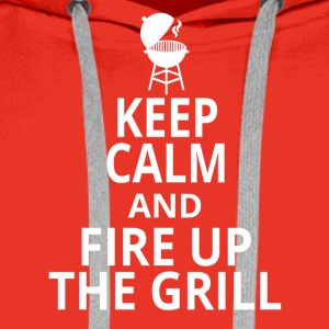Fire up the grill - Men's Premium Hoodie