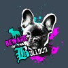 Bully, fransk bulldog - Attention fare - Premium hettegenser for menn
