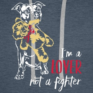 LOVER NOT A FIGHTER - Staffordshire - Men's Premium Hoodie