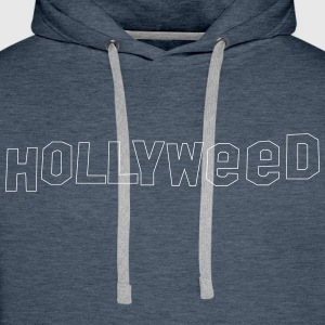 Hollyweed shirt - Premium hettegenser for menn