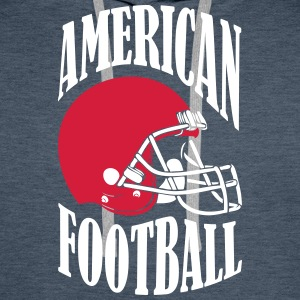 AMERICAN FOOTBALL - Premium hettegenser for menn