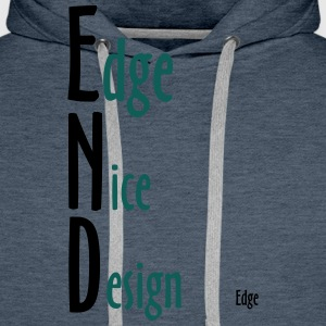 Edge_Nice_Design - Premium hettegenser for menn