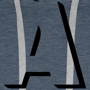 A is for anarchy - Men's Premium Hoodie