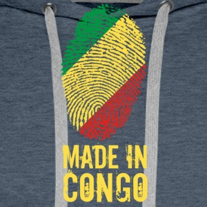 Made In Congo / Congo - Sweat-shirt à capuche Premium pour hommes