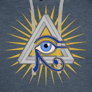 Eye and Triangle - Men's Premium Hoodie