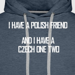 czech_one_two - Männer Premium Hoodie