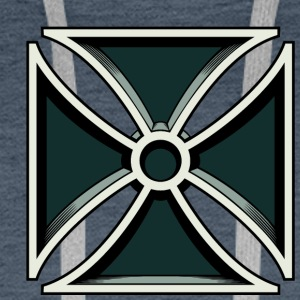 Iron Cross - Iron Cross - Miesten premium-huppari