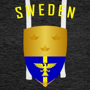 SWEDEN CROWNS SHIELD - Men's Premium Hoodie