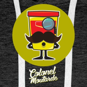Colonel Moutarde - Sweat-shirt à capuche Premium pour hommes