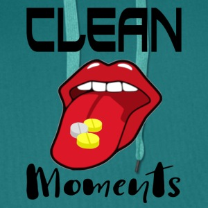 CLEAN MOMENTS - Premiumluvtröja herr