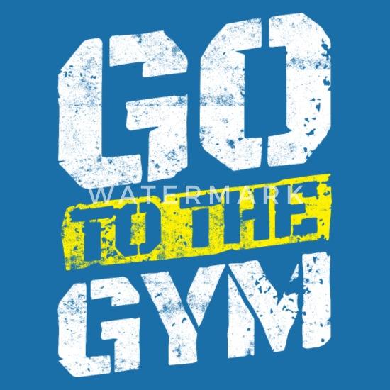 Fitness Workout Motivation Gym Spruch Latzchen Spreadshirt